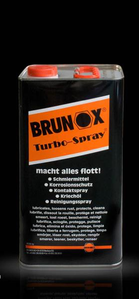 Brunox Turbo-Spray, Kanister 5 Liter